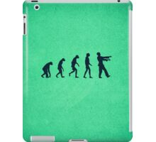 Evolution of Zombies (Zombie Walking Dead) iPad Case/Skin