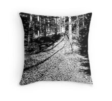 All About the Wood Throw Pillow