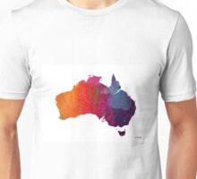 Australia Map 1 Unisex T-Shirt