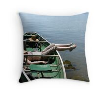 Thank Goodness for the Land of 1000 Lakes Throw Pillow