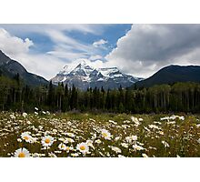 Mt Robson Photographic Print