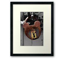 Locked - NSW Framed Print