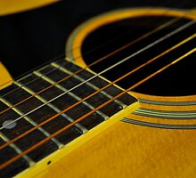 Acoustic Guitar - I by Corkle