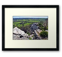 Mount Barker Summit Views Framed Print