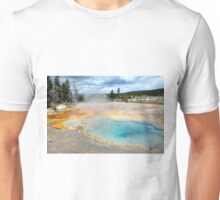 Yellowstone Geyser2 Unisex T-Shirt