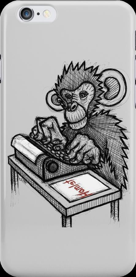 Monkey Writes Hamlet by Brett Gilbert