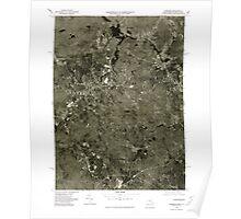 Massachusetts  USGS Historical Topo Map MA Uxbridge 351375 1975 25000 Poster