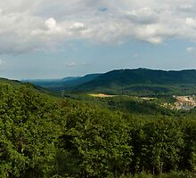 Blue Ridge Parkway Panoramic by Jimmy Phillips