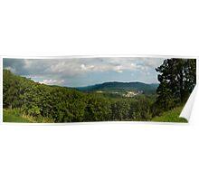 Blue Ridge Parkway Panoramic Poster