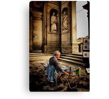 Artist of Firenze Canvas Print