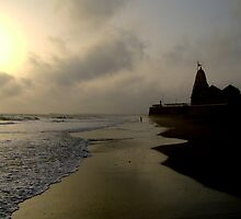Somnath temple by Akshatbhandari