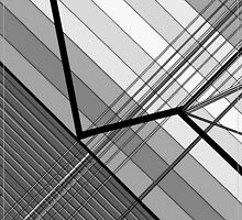 Gray Geometry 2 by EloiseArt