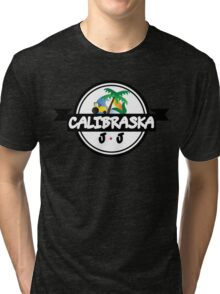 Calibraska Black Logo Tri-blend T-Shirt