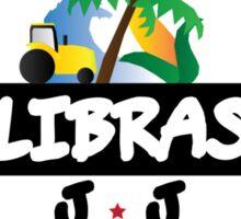 Calibraska Black Logo Sticker