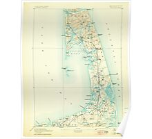 Massachusetts  USGS Historical Topo Map MA Wellfleet 353102 1893 62500 Poster