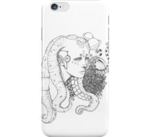 Space Doll iPhone Case/Skin