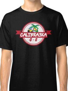 Calibraska Red Logo Classic T-Shirt