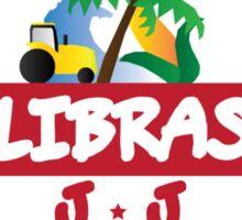 Calibraska Red Logo Sticker