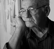 Pensive Man by RichardsPC