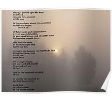 the dawn chorus Poster