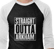 Straight Outta Arkham Men's Baseball ¾ T-Shirt