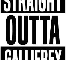 Straight Outta Gallifrey by JamesRiot