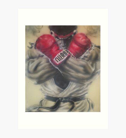 "airbrush ""Ryu"" Artwork Art Print"