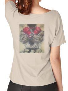 "airbrush ""Ryu"" Artwork Women's Relaxed Fit T-Shirt"
