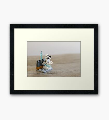 Filthy Creatures Framed Print