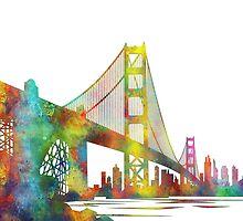 Golden Gate Bridge, San Francisco by Marlene Watson