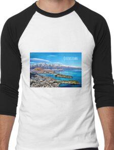 Queenstown NZ Men's Baseball ¾ T-Shirt