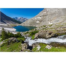 Lower Headwall Lake Photographic Print