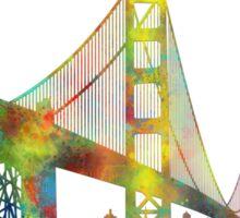 Golden Gate Bridge, San Francisco Sticker