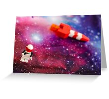 Space Oddity Greeting Card
