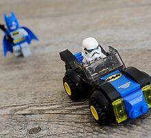 Batman Larry by Gillian Berry
