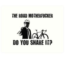 Share The Road Art Print