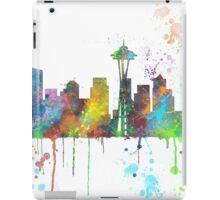 Seattle, Washington Skyline iPad Case/Skin