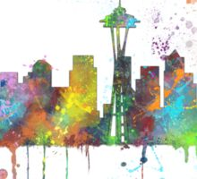 Seattle, Washington Skyline Sticker