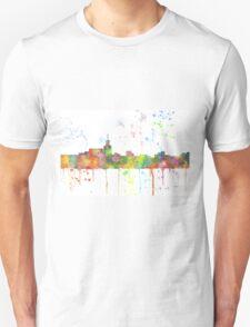 Santa Fe, New Mexico Skyline  T-Shirt