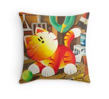 Explorer by Sophie Green Throw Pillow