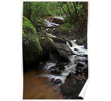 Britannia Creek Falls Poster