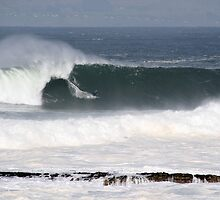 First big swell of October. by Donal O Faogain