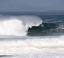 Wave bravery. by Donal O Faogain