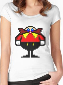 The Robotnik Doktor Sprite Women's Fitted Scoop T-Shirt