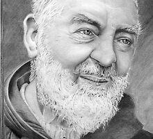 Padre Pio  by paulcardenas