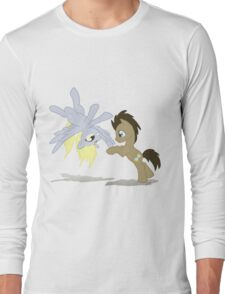 Derpy and Doctor Whooves T-Shirt