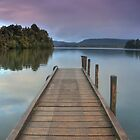 Mapourika Pier  by Andrew Dickman
