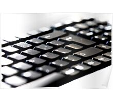Slim keyboard Poster