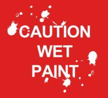 Caution Wet Paint One Piece - Long Sleeve