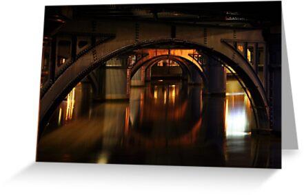 under the bridge by Anthony Hennessy